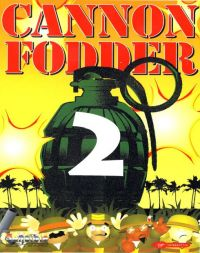 DOS - Cannon Fodder 2 Box Art Front