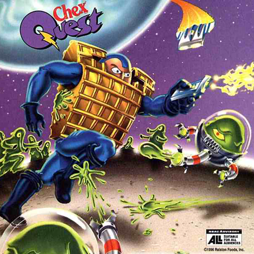DOS - Chex Quest 2 Box Art Front