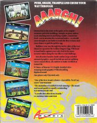 DOS - AAARGH! Box Art Back