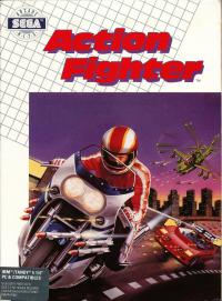 DOS - Action Fighter Box Art Front