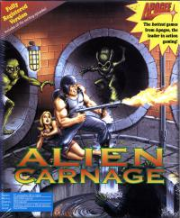DOS - Alien Carnage Box Art Front