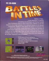 DOS - Battles in Time Box Art Back