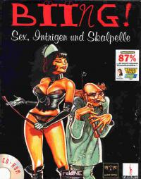 DOS - Biing! Sex Intrigue and Scalpels Box Art Front