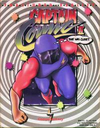 DOS - Captain Comic II Fractured Reality Box Art Front