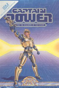 DOS - Captain Power and the Soldiers of the Future Box Art Front