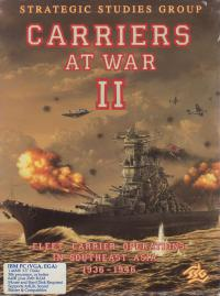 DOS - Carriers at War II Box Art Front