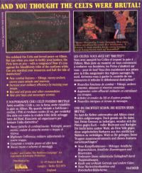 DOS - Castles The Northern Campaign Box Art Back