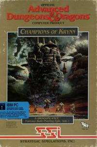 DOS - Champions of Krynn Box Art Front