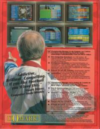 DOS - Championship Manager Box Art Back