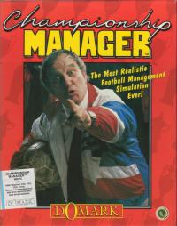 DOS - Championship Manager Box Art Front