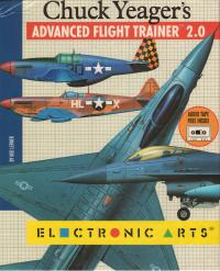 DOS - Chuck Yeager's Advanced Flight Trainer 20 Box Art Front
