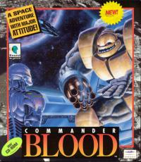 DOS - Commander Blood Box Art Front