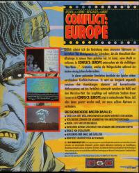 DOS - Conflict Europe Box Art Back