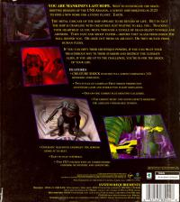 DOS - Creature Shock Box Art Back
