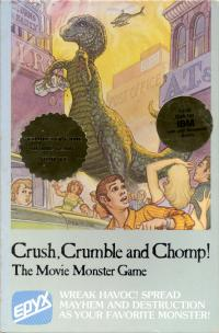 DOS - Crush Crumble and Chomp! Box Art Front