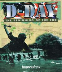 DOS - D Day The Beginning of the End Box Art Front