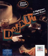 DOS - Deja Vu A Nightmare Comes True Box Art Front