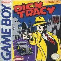 Game Boy - Dick Tracy Box Art Front