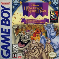 Game Boy - Disney's The Hunchback of Notre Dame Box Art Front