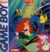 Game Boy - Disney's The Little Mermaid Box Art Front