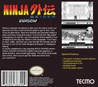 Ninja Gaiden Shadow Game Boy