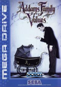 Genesis - Addams Family Values Box Art Front