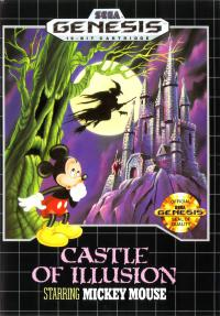 Genesis - Castle of Illusion Starring Mickey Mouse Box Art Front