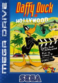 Genesis - Daffy Duck in Hollywood Box Art Front