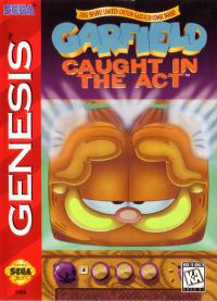 Genesis - Garfield Caught in the Act Box Art Front