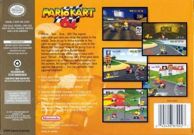 Mario Kart 64 N64