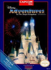 NES - Adventures in the Magic Kingdom Box Art Front