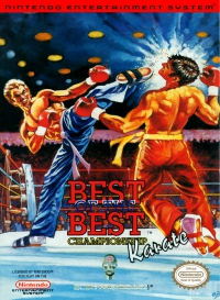 NES - Best of the Best Championship Karate Box Art Front