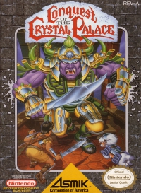 NES - Conquest of the Crystal Palace Box Art Front