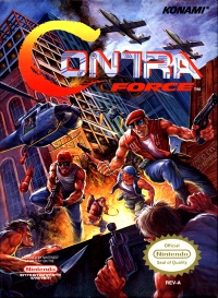 NES - Contra Force Box Art Front