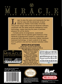 Miracle Piano Teaching System Nes