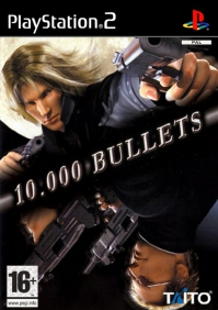 PS2 - 10000 Bullets Box Art Front
