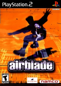PS2 - Airblade Box Art Front