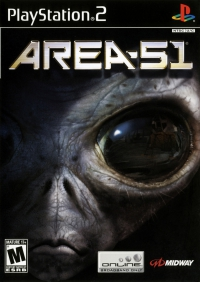 PS2 - Area 51 Box Art Front