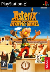PS2 - Asterix at the Olympic Games Box Art Front