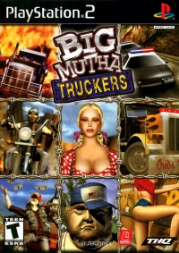 PS2 - Big Mutha Truckers Box Art Front