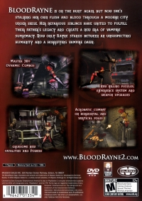 Bloodrayne 2 Ps2