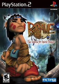 PS2 - Brave  the search for spirit dancer Box Art Front