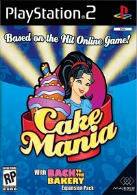 PS2 - Cake Mania Box Art Front