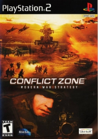 PS2 - Conflict Zone Box Art Front