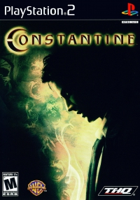 PS2 - Constantine Box Art Front