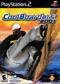 PS2 - Cool Boarders 2001 Box Art Front
