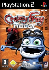 PS2 - Crazy Frog Racer 2 Box Art Front