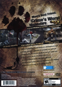 PS2 - Dead to Rights II Box Art Back