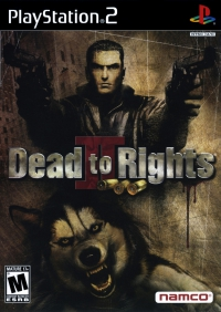 PS2 - Dead to Rights II Box Art Front