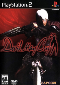 PS2 - Devil May Cry Box Art Front